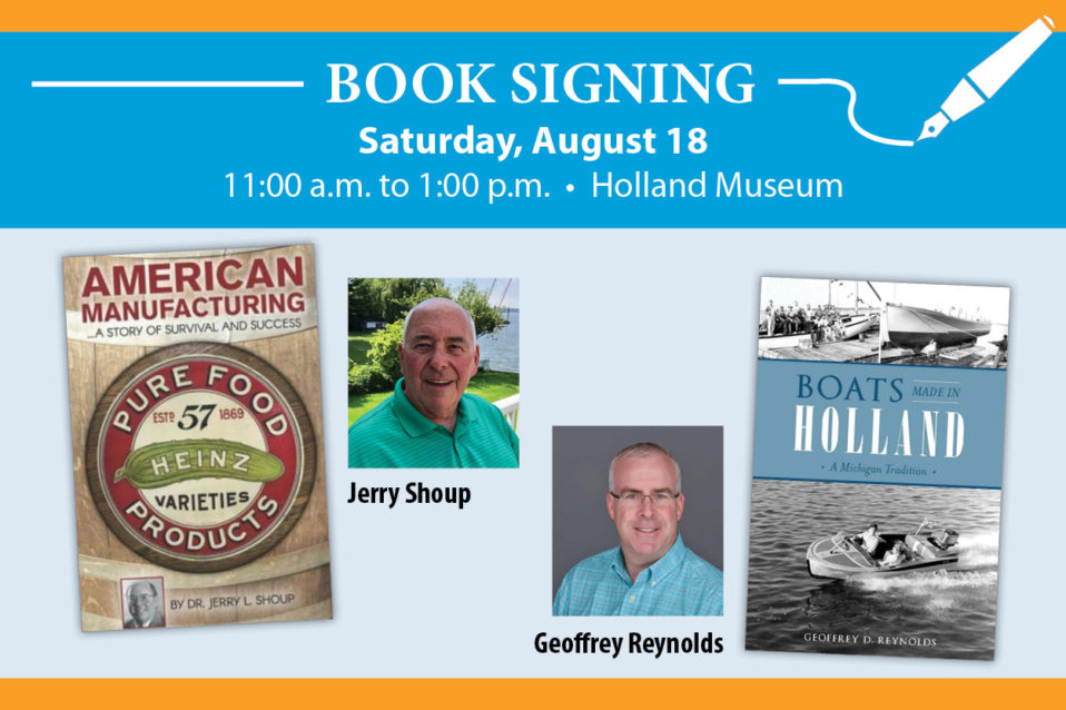Book Signing with Local Authors – Holland Museum